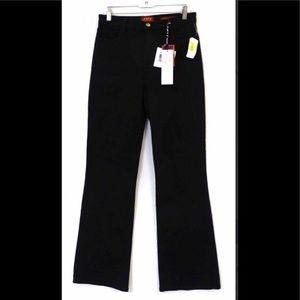 NYDJ Sarah Boot Cut Tummy Tuck Black Jeans